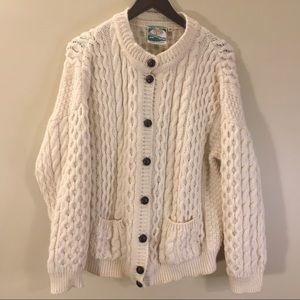 Gaeltarra | Pure New Wool Cardigan